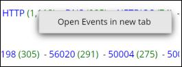 the Meta Count context menu