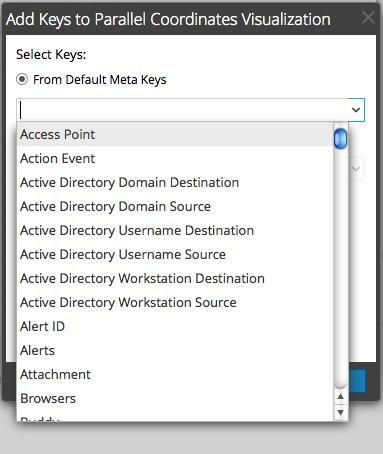 From Default Meta Keys drop-down list