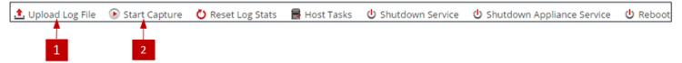 Services System Toolbar Log Decoder