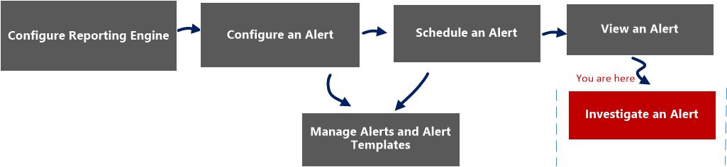 investigate  alert workflow
