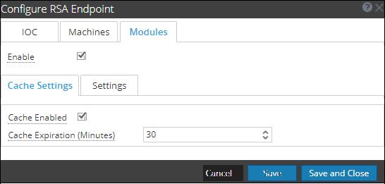 Data source settings configuration