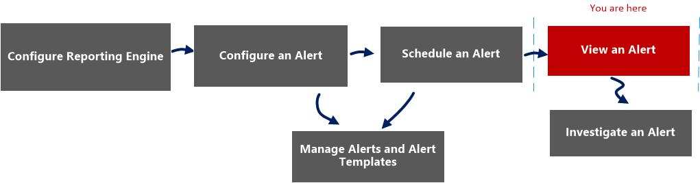 view an alert workflow