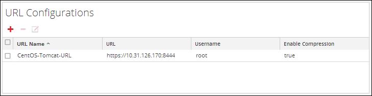 Configure URL settings